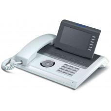 Системный IP Телефон Unify (Siemens) OpenStage 40 HFA V3 прозрачный лёд