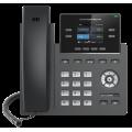 IP телефон GRP2612, 2 SIP аккаунта, 4 линии, цветной LCD, 16 виртуальных BLF, PoE, без БП