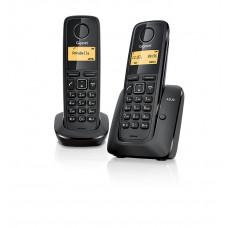 Радиотелефон DECT Gigaset A120 DUO, черный