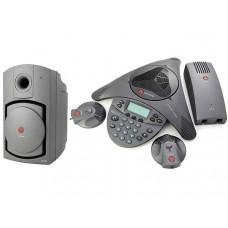 Конференц-телефон Polycom SoundStation VTX1000, c 2-мя микрофонами и сабвуфером
