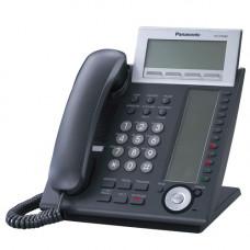 Системный IP телефон Panasonic KX-NT366, черный