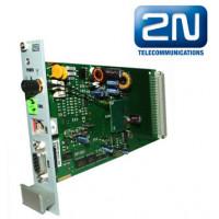 2N EasyGate Rack, 1 GSM канал, порт FXS, GPRS-интернет, SMS, программирование с ПК, установка в шасс