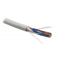Кабель Hyperline витая пара UTP (U/UTP), категория 3, 50 пар (24 AWG), одножильный (solid), PVC