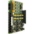 Плата CH408, 4 внешние линии, 8 гибридных внутренних абонентов для АТС eMG80