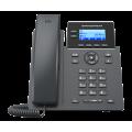 IP телефон GRP2602, 4 SIP аккаунта, 2 линии, поддержка Wi-Fi, без БП и PoE