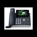 SIP телефон Yealink SIP-T46S, цветной экран, 16 линий, BLF, PoE, GigE, без БП