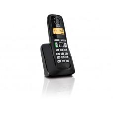 Радиотелефон DECT Gigaset A220, черный