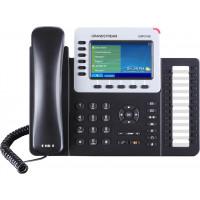 IP телефон GXP2160, SIP, 2 порта Ethernet 10/100/1000, PoE, HD audio, с БП
