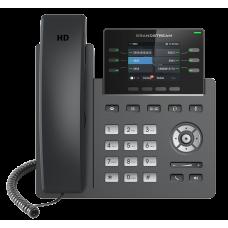 IP телефон GRP2613, 3 SIP аккаунта, 6 линий, цветной LCD, PoE, 1Gb порт, 24 виртуальных BLF