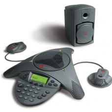 Конференц-телефон Polycom SoundStation VTX1000, c доп. микрофонами и Subwoofer
