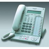 Системный телефон Panasonic KX-T7633, белый