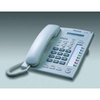 Системный телефон Panasonic KX-T7665, белый