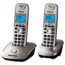 Радиотелефон DECT Panasonic KX-TG2512RU, платиновый