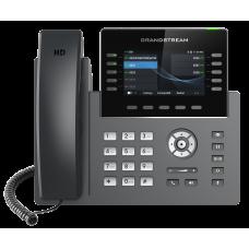 IP телефон GRP2615, 5 SIP аккаунтов, 10 линий, цвет. LCD, PoE, 1Gb порт, до 4 GBX20, USB, Wi-Fi, BT