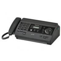 Факс Panasonic KX-FT502RU на термобумаге, черный