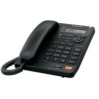 Проводной телефон KX-TS2570RU, ЖКД, спикерфон, черный