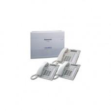 Мини АТС Panasonic KX-TEM824 с системными телефонами KX-T7730 - 2шт и KX-T7735 - 1шт