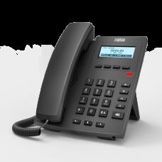 IP телефон Fanvil X1P, 2 SIP-аккаунта, ЖКИ, поддержка РОЕ, без БП