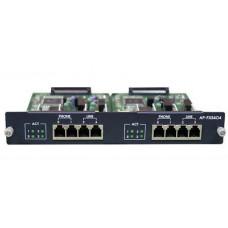 Модуль AP-FXO4S4, 4 порта FXS и 4 порта FXO для VoIP шлюзов AP2120/2640/2650