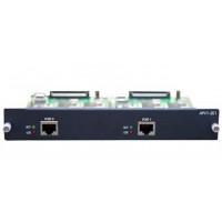 Модуль APVI-2E1, 2 порта T1/E1(ISDN-PRI/R2) для VoIP шлюзов AP2640/2650