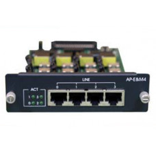 Модуль AP-E&M4, 4 порта E&M для VoIP шлюзов Addpac VoiceFinder АР2620