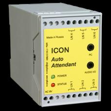 Автосекретарь ICON AA453M (3 линии, 2 часа записи, 15 почтовых ящиков, COM порт)