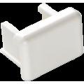 Заглушка торцевая для кабель-канала 20х12,5 (белый), аналог Legrand 30220