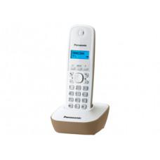 Радиотелефон DECT Panasonic KX-TG1611RU, бежевый