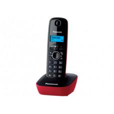 Радиотелефон DECT Panasonic KX-TG1611RU, красный